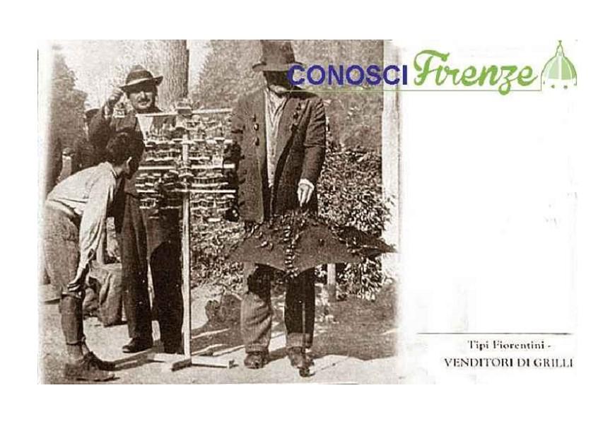 Los vendedores de grillos
